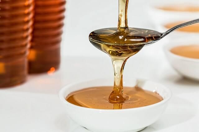 miel para los ojos