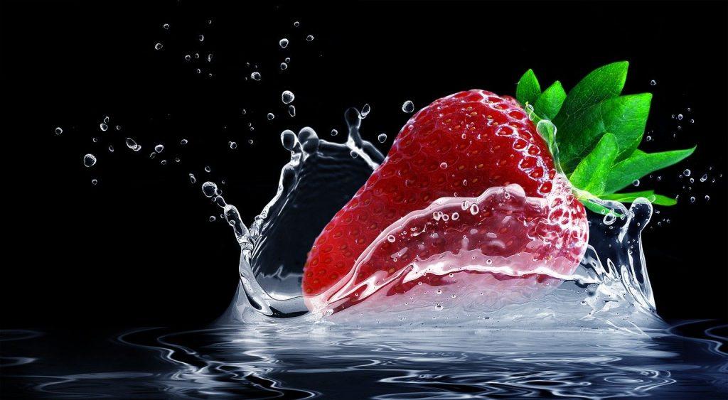 Fresas y frutos secos