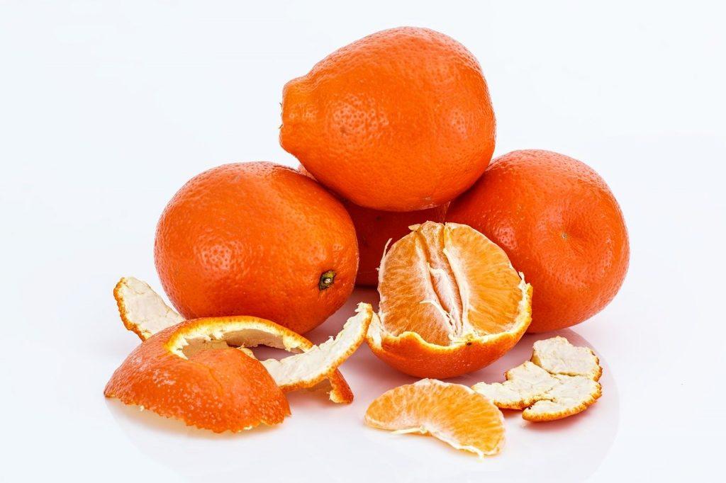 Remedio té de cáscara de mandarina