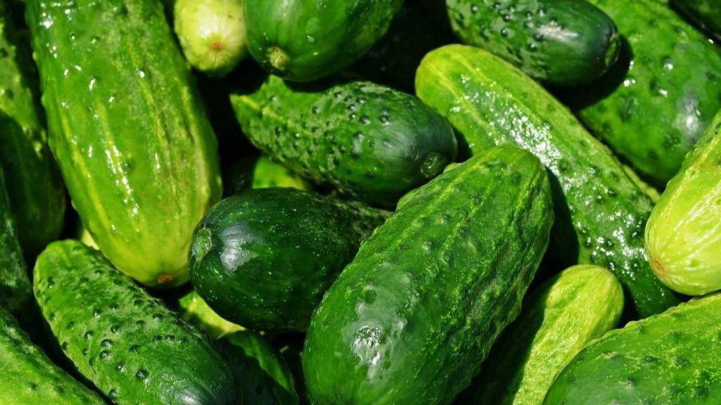 Pepinos y perejil para el colesterol